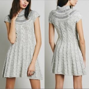 Free People NWT Nordic Nights Sweater Dress